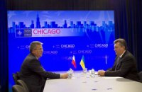 Чикаго, США, саміт НАТО. Робота Президента Віктора Януковича