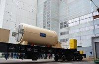 США поставили в Украину первый контейнер для ядерного хранилища