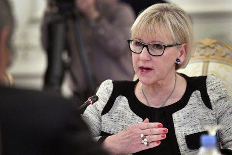 МИД Швеции исключил отмену санкций против России до возврата Крыма Украине