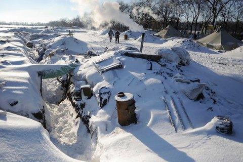 День перед Новым годом прошел без обстрелов на Донбассе