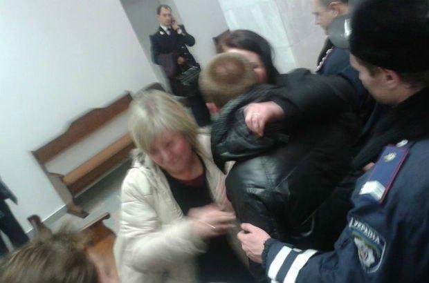Микита Горський у залі суду