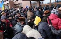 В Ивано-Франковске люди захватили ОГА (обновлено,добавлены фото)