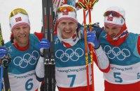 Норвежец Крюгер выиграл 30-километровую гонку в скиатлоне