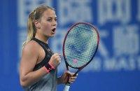15-летняя украинка была близка к сенсации на теннисном турнире в Штутгарте