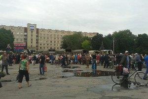 В Славянске возобновили трансляцию украинских каналов