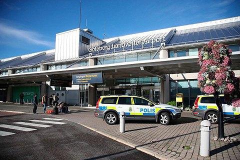 В аэропорту Швеции задержали мужчину со взрывчаткой