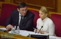 Луценко исключил уголовное преследование Тимошенко за газовые контракты