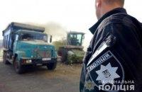 Поліція знищила комбайном 89 тисяч кущів конопель з рекордної плантації на Прикарпатті