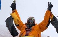 На Евересті врятували двох українських альпіністів