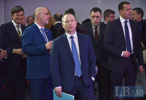 Слева направо: Андрей Магера , Григол Катамадзе, Игорь Райнин, Юрий Чевордов, Дмитрий Столярчук