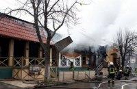 В Одессе сгорели кафе, ресторан и магазин