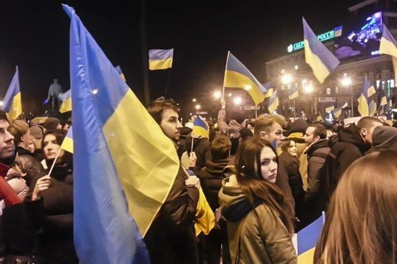 Мітинг 5 березня 2014 року в Донецьку