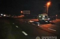 Lexus на пешеходном переходе сбил насмерть двух человек в Харьковской области
