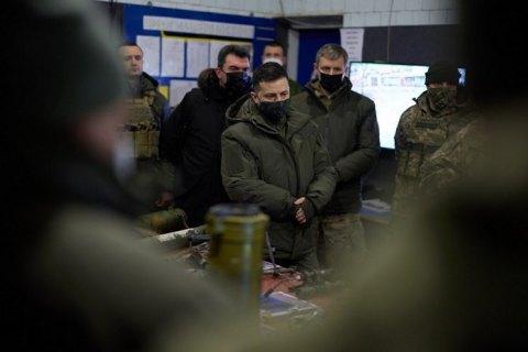 Зеленський заявляє, що Україна готова до можливого вторгнення російських військ