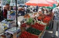 Ціни на овочі та фрукти зменшилися на 15%