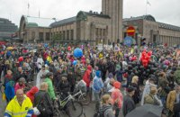 В Хельсинки протестуют более 30 тыс. недовольных экономической политикой правительства
