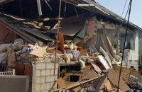 На Закарпатье из-за взрыва газовой установки в автомобиле обрушился дом