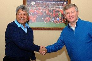 Официально: Луческу убедил Ахметова в своей незаменимости