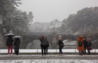 В Японии из-за сильных снегопадов погибли четыре человека, десятки травмированы