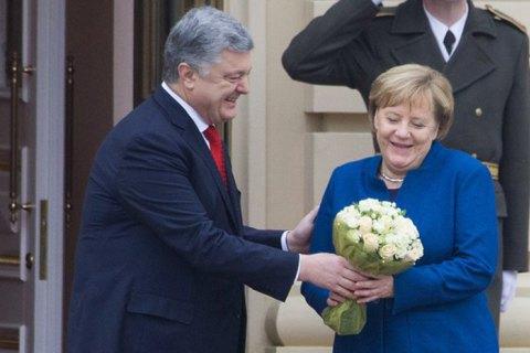 Петр Порошенко собирается с визитом в Германию