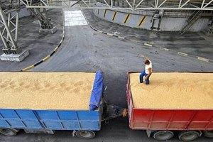 Украина увеличила экспорт зерна
