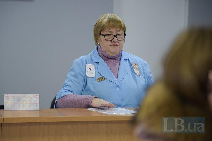 Медрегистратор Татьяна в Киевском городском детском диагностическом центре