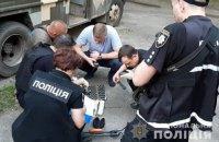 Киевские правоохранители нашли оружие в квартире, из которой выпал ребенок
