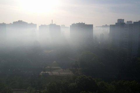 Київ потрапив у десятку міст з найбруднішим повітрям