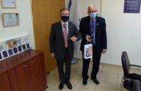 Украина и Израиль планируют установить прямые контакты миграционных и пограничных ведомств, - посольство