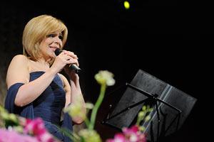 Ольга Богомолец дала концерт с симфоническим оркестром