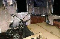 В Житомирской области в пожаре сгорели двое детей, пока мама хлопотала по хозяйству