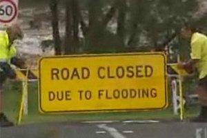 Город в Австралии эвакуировали из-за наводнения