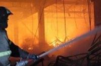 На Запорожье горит 120 тонн ядохимикатов