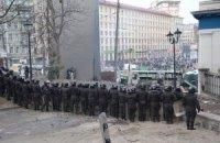 Священники приостановили противостояние на Грушевского