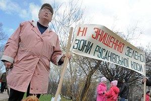 Жители Русановки требуют избавиться от дебаркадеров
