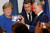 Макрон сподівається найближчим часом отримати згоду Путіна на глобальне припинення вогню