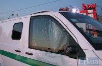 Неизвестный угнал инкассаторский автомобиль в Киеве