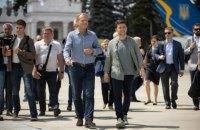 Туск и Зеленский посетили Станицу Луганскую