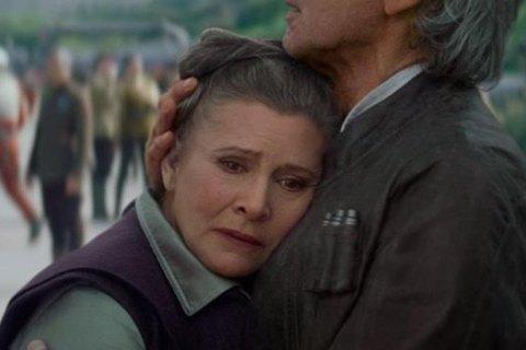 """Померла актриса Керрі Фішер, яка зіграла принцесу Лею в """"Зоряних війнах"""""""