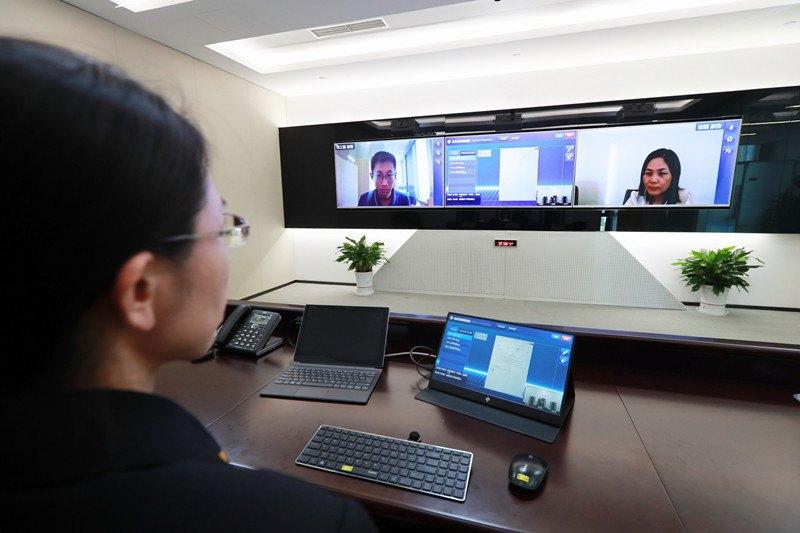 Онлайн судове засідання у Пекіні
