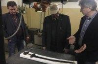 Скандинавський меч вікінга і скіфський меч передали на дослідження