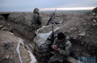 Двое военных ранены за сутки на Донбассе