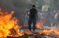Забастовка в Греции обернулась беспорядками