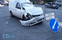 У Києві при зіткненні двох машин загинула жінка