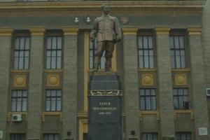 Харьковский завод счел оскорблением снос памятника Орджоникидзе