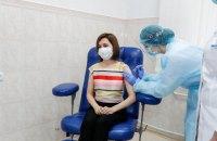 Президентка Молдови щепилася від ковіду препаратом AstraZeneca