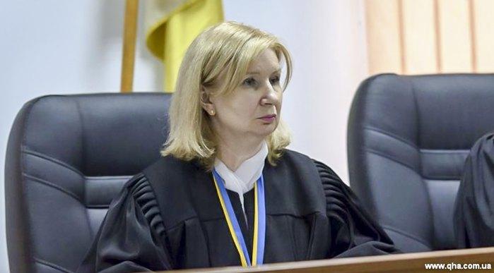 Cуддя Шевченківського районного суду міста Києва Щебуняєва Лідія
