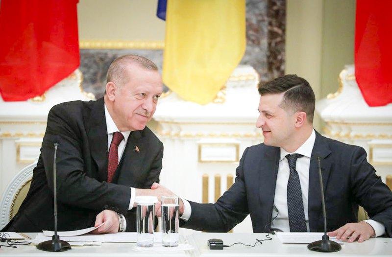 Президент України Володимир Зеленський і президент Туреччини Реджеп Таїп Ердоган