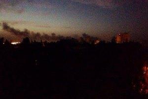 Утро в Донецке началось с артиллерийских залпов