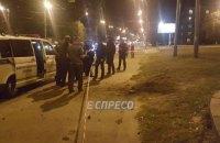 Возгорание силового кабеля на улице Телиги в Киеве приняли за взрыв (обновлено)